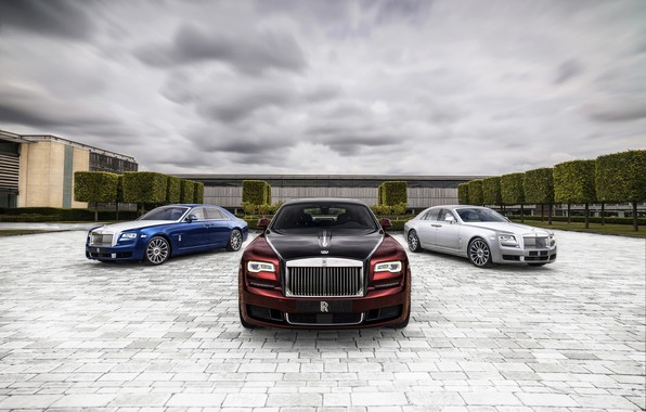 Picture clouds, Rolls-Royce, Ghost, 2019