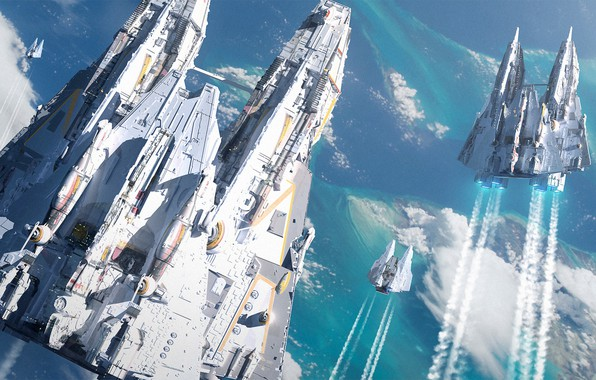 Picture Starships, Raphael Lacoste, Starships