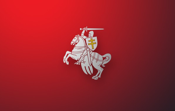 Picture Wallpaper, Chase, Coat of arms, Wallpapers, Pahonia, Belarus, Emblem, Belarus, BNR, Chase, Herb, Herbs, Vytís, …