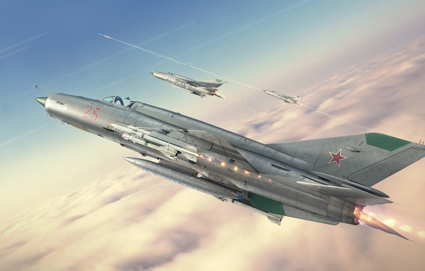 Picture Interceptor, KB MiG, MiG-21bis, Frontline fighter