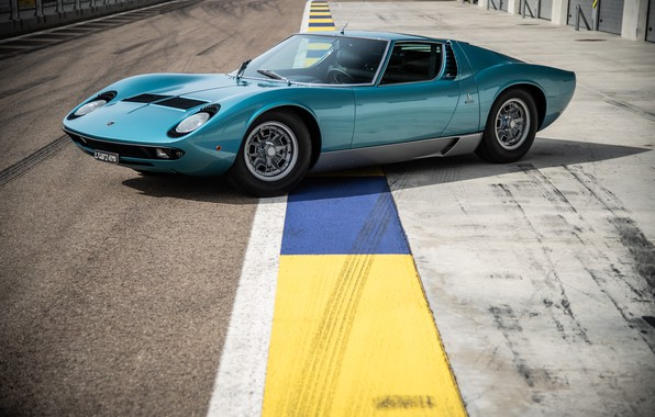 Picture Lamborghini, Miura, P400 S