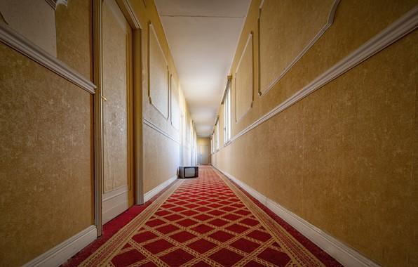 Picture background, TV, corridor