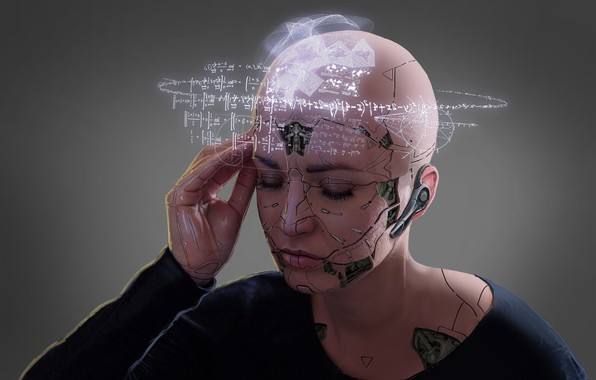 Picture Robot, Thoughts, Cyberpunk