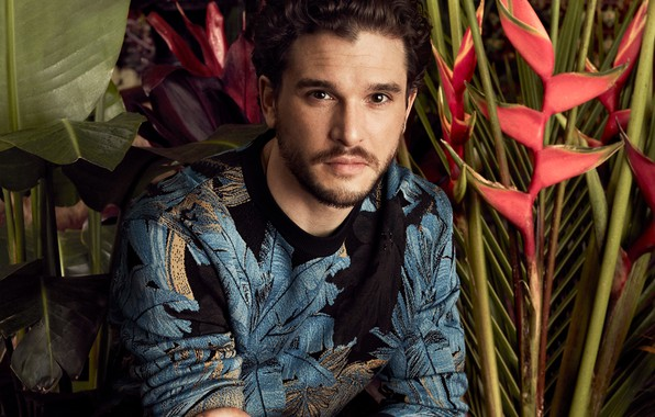 Picture look, male, sweater, Kit Harington