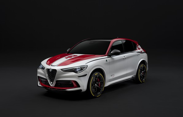 Picture tuning, Alfa Romeo, Racing, 2019-20, Stelvio Four-Leaf Clover
