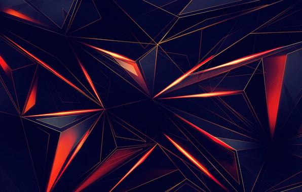 Picture line, abstraction, black, texture, Background, minimum