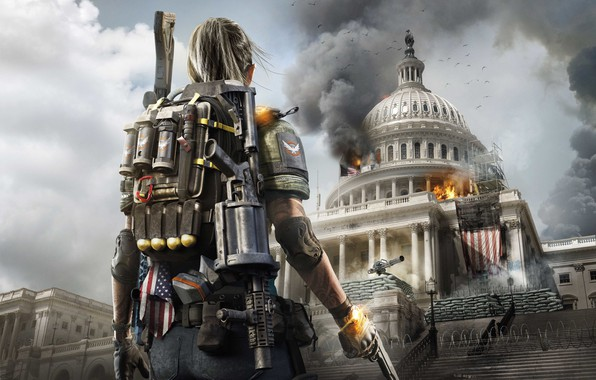 Picture Washington, the white house, Capitol, Tom Clancy's The Division 2, The Division 2