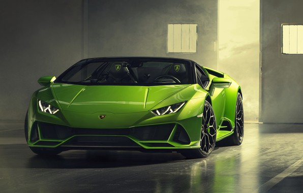 Picture Lamborghini, Spyder, Evo, Huracan, 2019, Lamborghini Huracan Evo