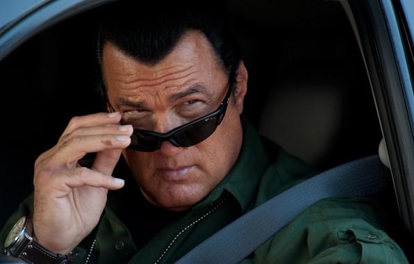 Picture machine, pose, actor, the series, actor, glasses, Steven Seagal, Steven Seagal, Real justice, True Justice, …