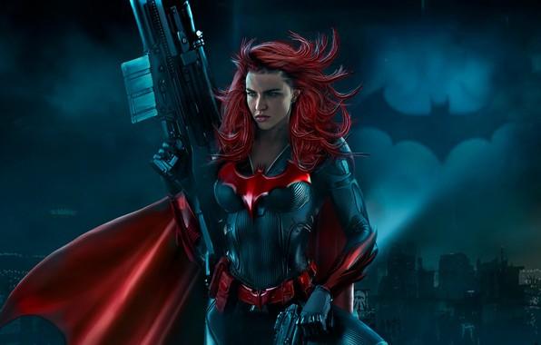 Picture costume, batwoman, TV Series, Batwoman, Ruby Rose, CW TV, Ruby Rose, Kathy Kane