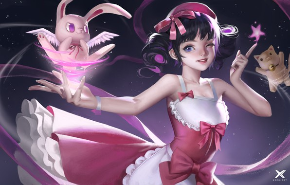 Picture magic, the game, anime, pet, The sixth - term role boutique class-students work, Star Academy