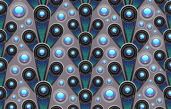 Picture blue, background, graphics, texture, geometry, digital art