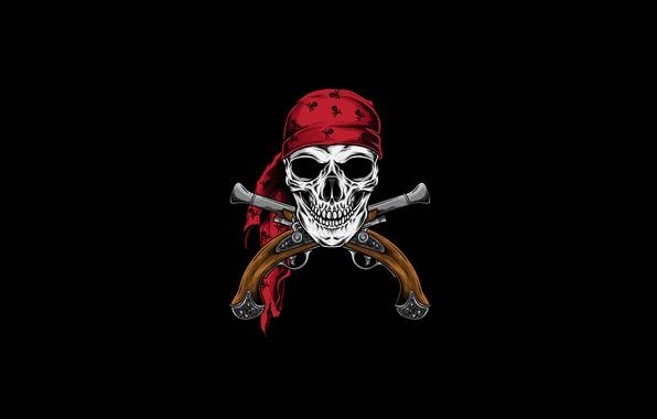 Picture Minimalism, Figure, Skull, Style, Background, Pirate, Fantasy, Fantasy, Art, Art, Style, Sake, Fiction, Fiction, Background, …