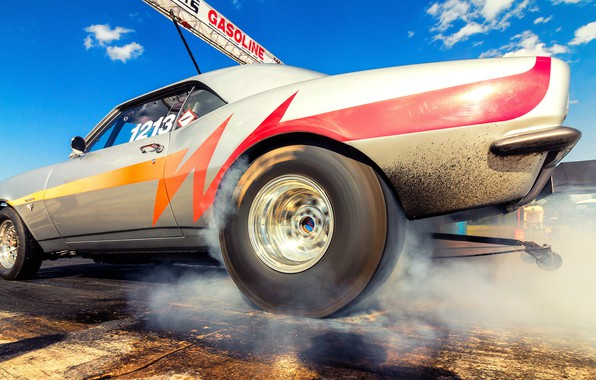 Picture machine, race, Dragracing