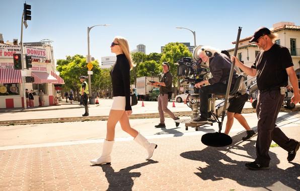 Picture movie, blonde, Los Angeles, movie, blonde, shooting, Los Angeles, margot robbie, Margot Robbie, once in ...