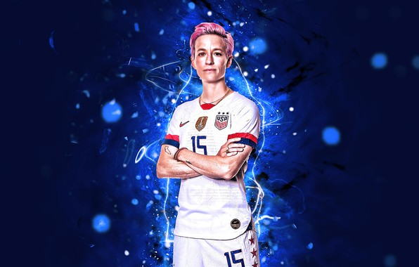 Picture USA, United States, Nike, Sport, Soccer, American, White Uniform, Rapinoe, Megan Rapinoe