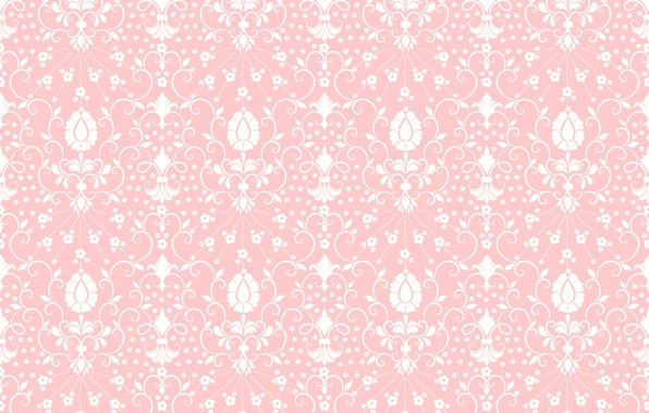Picture flowers, texture, ornament, pink background