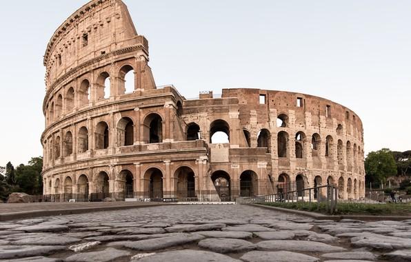 Picture Rome, ruins, coliseum