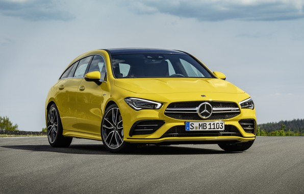 Picture Mercedes-Benz, AMG, 2018, Shooting Brake, CLA 35