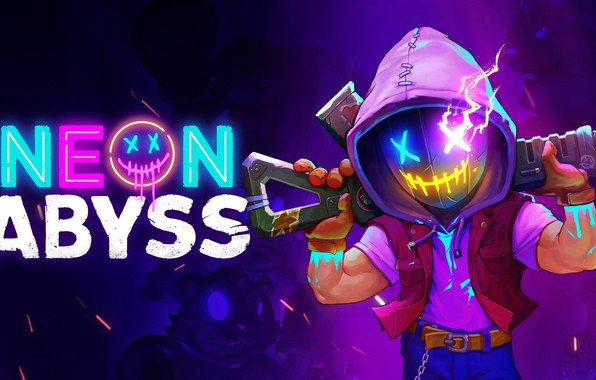 Picture Neon, Synthwave, Neon Abyss