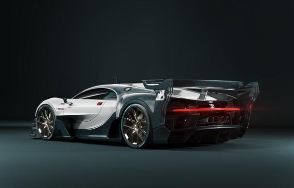 Picture Machine, Bugatti, Supercar, Rendering, Sports car, Bugatti Chiron, Transport & Vehicles, by Damian Bilinski, Damian …