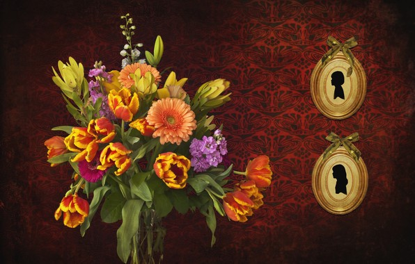Picture flowers, background, pictures, bouquet