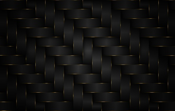 Picture background, pattern, black, gold