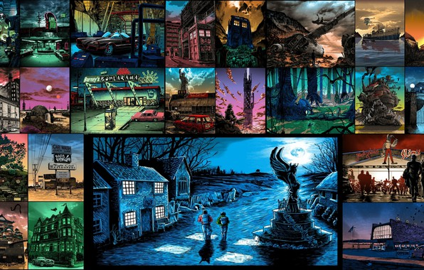 Picture art, movies, backgroud, tim doyle