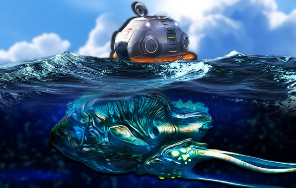 Picture Water, The game, Subnautica, Rifampin