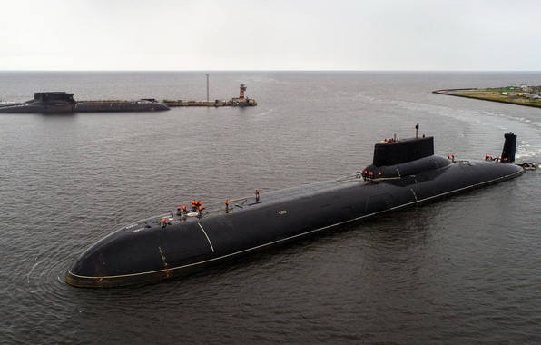 Picture boat, Shark, the project, cruiser, underwater, heavy, atomic, rocket, purpose, project, atomic, strategic, 941