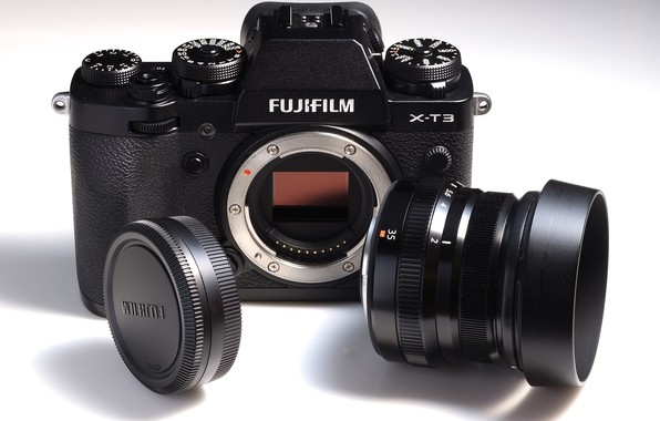 Picture the camera, lens, Fujifilm, system, X-T3