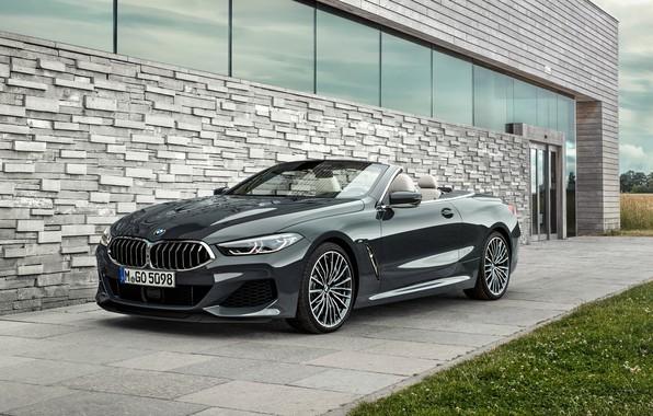 Picture BMW, 2018, Cabrio, xDrive, G14, M850i, BMW M850i xDrive Cabrio 2018, BMW M850i xDrive Cabrio