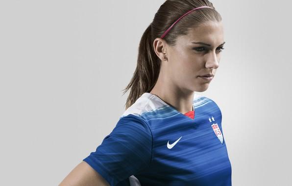 Picture woman, usa, soccer, player, alex morgan