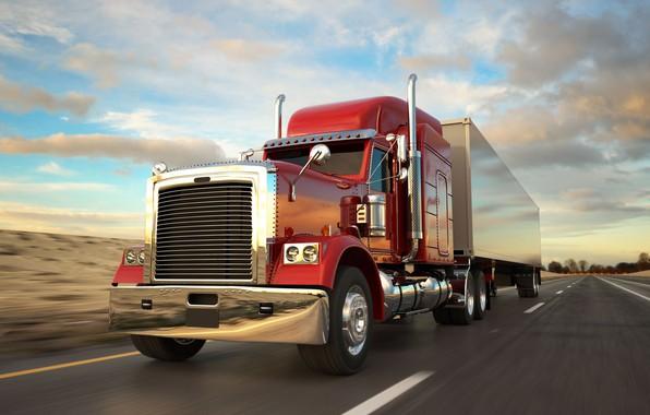 Picture Truck, Peterbilt, American truck
