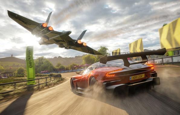 Picture Aston Martin, Microsoft, 2018, Vulcan, Forza Horizon 4