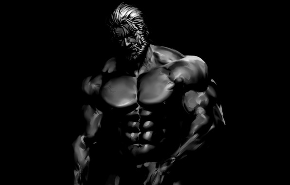 Picture figure, art, muscle, muscle, muscles, press, athlete, Bodybuilding, bodybuilder, abs, weight, bodybuilder