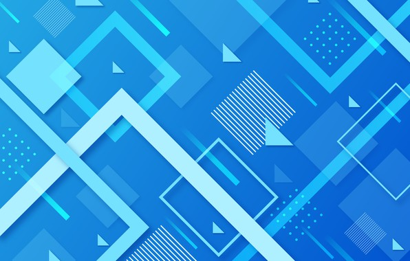 Picture line, design, abstraction, background, blue, geometry, background