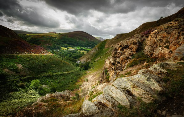 Picture Wales, North Wales, Sychnant Pass
