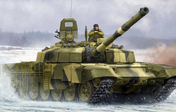 Picture T-72B2, Uralvagonzavod, Slingshot, Soviet medium and main tank