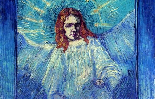 Picture Rembrandt, Vincent van Gogh, of an Angel after, Half Figure
