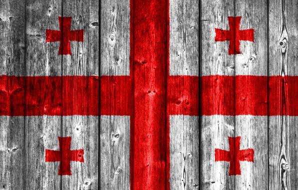Picture Wood, Flag, Georgia, Cross, Georgian, Flag Of Georgia, Ensign, Gerogian Flag, Flag Of Georgia On …