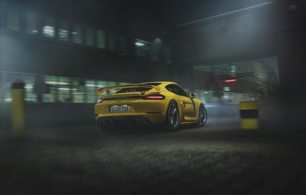 Picture machine, Porsche, Cayman, GT4, 718