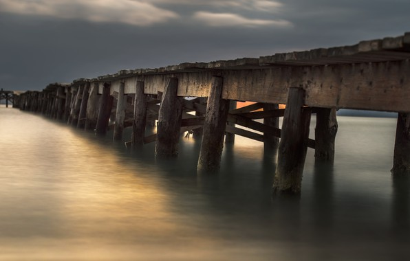 Picture bridge, Balearic Islands, Alcudia, The Port of Alcudia