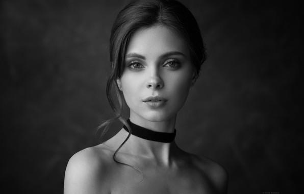 Picture Girl, shoulders, Denis Drozhzhin