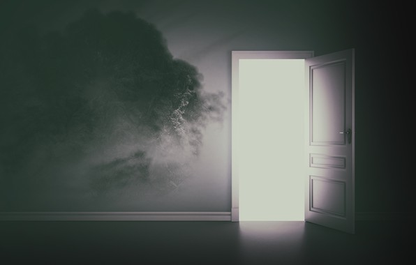 Picture light, the door, output