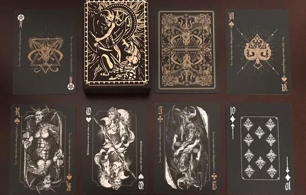 Picture card, fiction, mystic