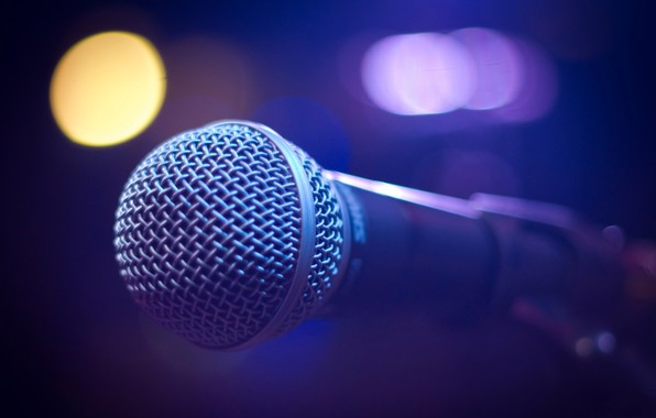 Picture sound, concert, microphone