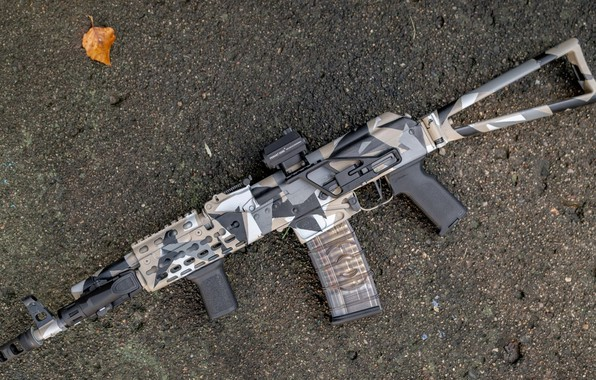 Picture weapons, tuning, weapon, custom, custom, Kalashnikov, assault rifle, Assault Rifle, Kalashnikov, AK