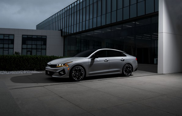 Picture Parking, sedan, KIA, Kia, Optima, 2020, 2021, fastback, K5, K5 GT-Line AWD, Kia K5, KIΛ