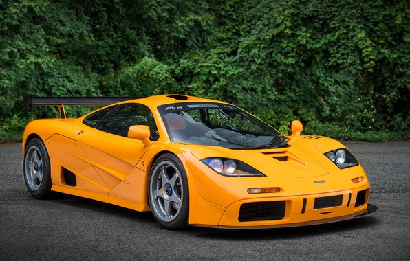 Picture Orange, Supercar, McLaren F1, 1995, LM